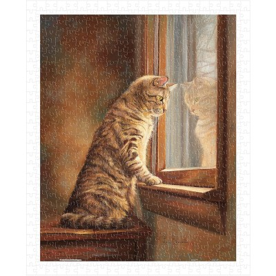 Pintoo-H2282 Lucie Bilodeau - Peering Out The Window