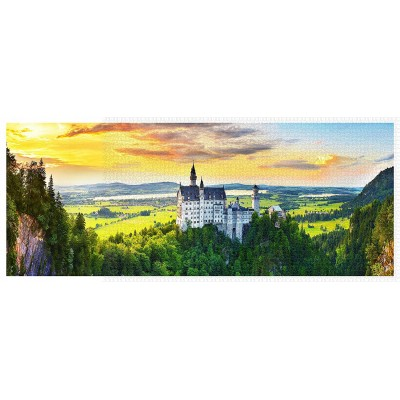 Pintoo-H2318 Sunset of Neuschwanstein Castle, Germany