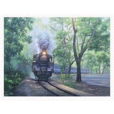 Pintoo-H2338 Lai Ying Tse - The Whistle in Green Tunnel - Jiji Line Railway