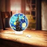 Pintoo-J1013 Puzzle 3D - Sphere Light - Van Gogh