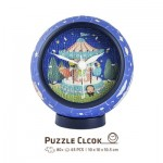 Pintoo-KC1003 Puzzle 3D Clock - Young Heart