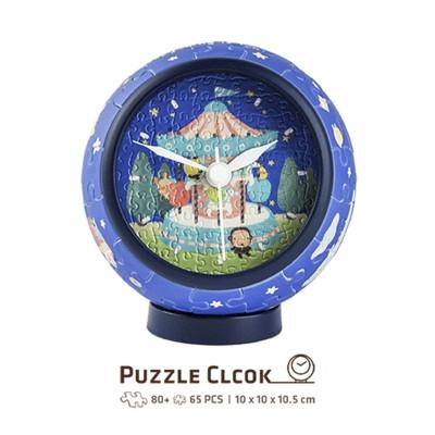 Pintoo-KC1003 Puzzle 3D Clock - Young Heart