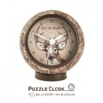Pintoo-KC1007 Puzzle 3D Clock - Into the Woods