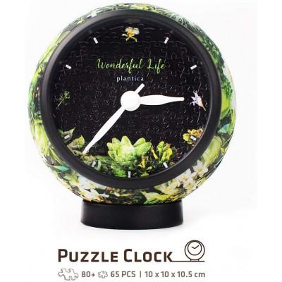 Pintoo-KC1038 Puzzle 3D Clock - Elegant Notation (Piles non fournies)