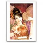 Pintoo-M1088 Puzzle en Plastique - Derjen : Femme dansant