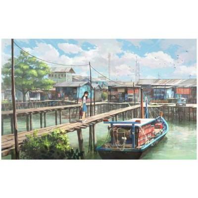 Pintoo-PH1011 The Fishing Boat