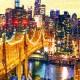 Puzzle en Plastique - Manhattan with Queensboro Bridge, New York