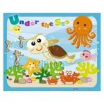 Pintoo-T1007 Puzzle en Plastique - Under the Sea