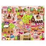 Pintoo-T1013 Puzzle en Plastique - Candy Village