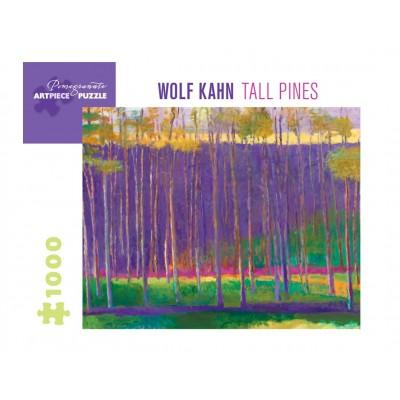 Pomegranate-AA1037 Wolf Kahn - Tall Pines, 1999