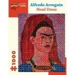 Pomegranate-AA1053 Alfredo Arreguín - Head Dress, 2014