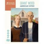 Pomegranate-AA1081 Grant Wood - American Gothic