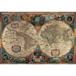 Pomegranate-AA603 Henricus Hondius : Carte antique du monde