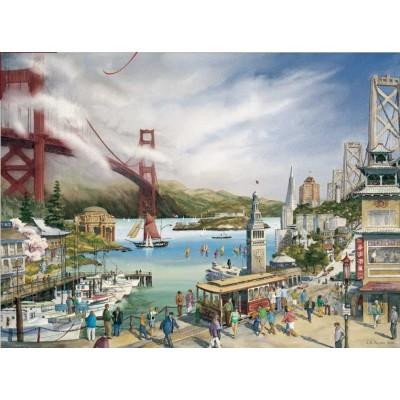 Pomegranate-AA677 Larry A. Wilson : Esprit de San Francisco