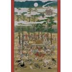 Pomegranate-AA801 Hanabusa Itcho : Bouddha au Nirvana