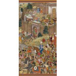 Pomegranate-AA816 Surdas Gujarati : Babur Setting Out from Kabul