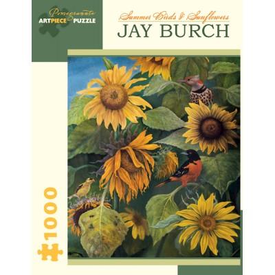 Pomegranate-AA878 Jay Burch - Summer Birds and Sunflowers, 2011