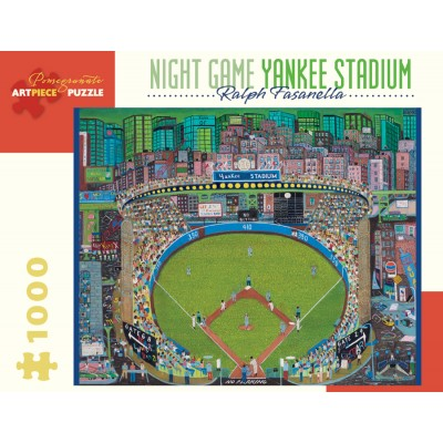 Pomegranate-AA912 Ralph Fasanella - Night Game - Yankee Stadium, 1981