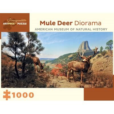 Pomegranate-AA941 Mule Deer Diorama - American Museum of Natural History