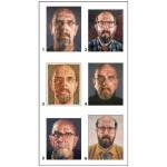 Pomegranate-PB003 Chuck Close - 12 cubes pour six autoportraits