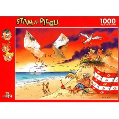 PuzzelMan-060 Stam & Pilou : La Plage