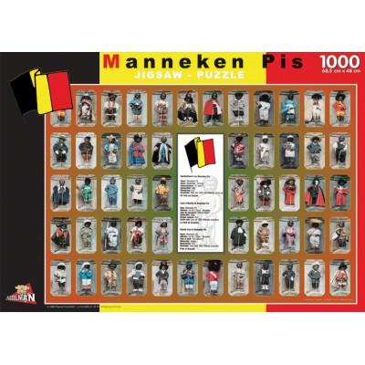 PuzzelMan-06094 Belgique : Manneken Pis