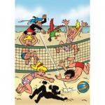 PuzzelMan-074 Jommeke : Beach Volley