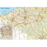 PuzzelMan-107 Carte routière de la Belgique