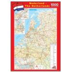 PuzzelMan-108 Carte routière des Pays-Bas