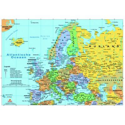PuzzelMan-125 Carte de l'Europe
