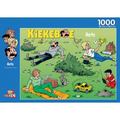 PuzzelMan-144 Fanny et Cie : Dans le jardin