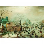 PuzzelMan-383 Collection Rijksmuseum Amsterdam - Hendrick Avercamp : Paysage d'hiver