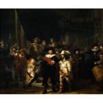 PuzzelMan-384 Collection Rijksmuseum Amsterdam - Rembrandt : La Ronde de Nuit