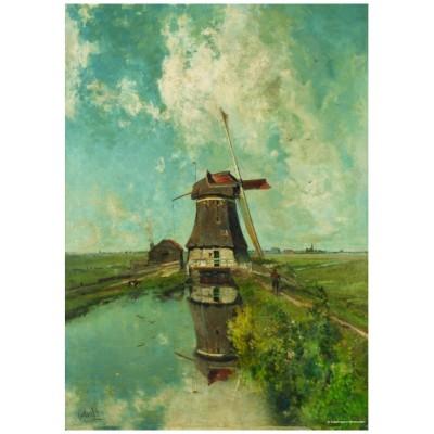 PuzzelMan-387 Collection Rijksmuseum Amsterdam - Paul Gabriel : Le Moulin