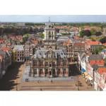 PuzzelMan-425 Pays Bas, Delft : Hôtel de ville