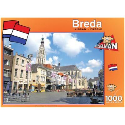 PuzzelMan-426 Pays Bas, Breda : Eglise Notre Dame