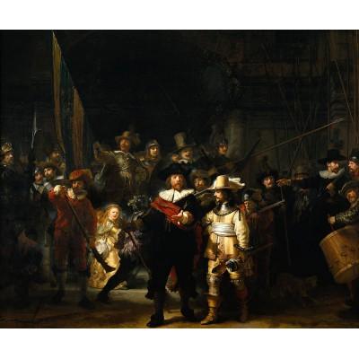 PuzzelMan-472 Collection Rijksmuseum Amsterdam - Rembrandt : La Ronde de Nuit