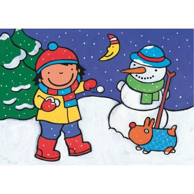 PuzzelMan-507 Noa : A la neige