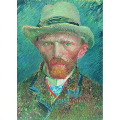 PuzzelMan-551 Collection Rijksmuseum Amsterdam - Van Gogh Vincent : Auto portrait