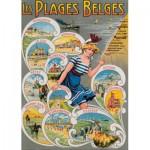 PuzzelMan-636 Les Plages Belges