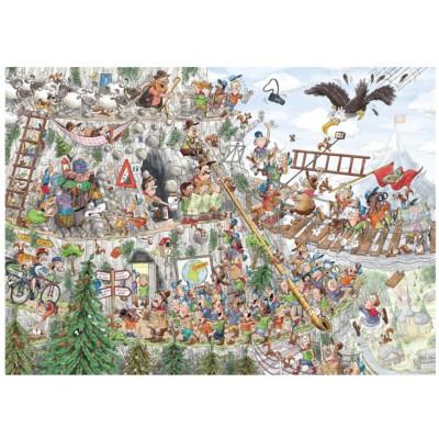 Puzzelman-875 Scouts & Squirrels - Dans les Montagnes