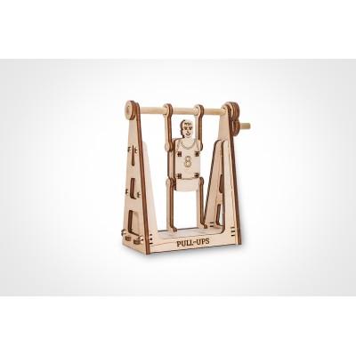 Eco-Wood-Art-34 Puzzle 3D en Bois - Sportif