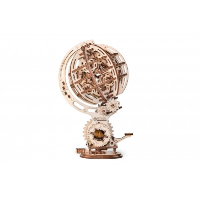 Eco-Wood-Art-72 Puzzle 3D en Bois - Kinetic Globe