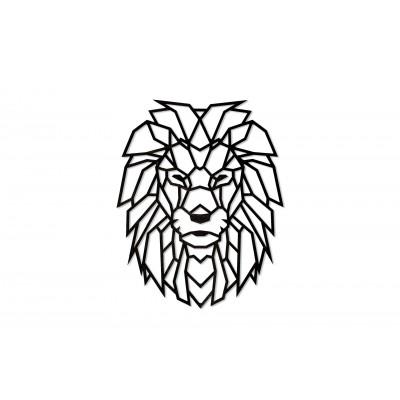 Eco-Wood-Art-76 Puzzle en Bois - Lion