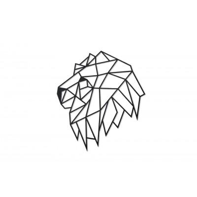 Eco-Wood-Art-77 Puzzle en Bois - Lion Head