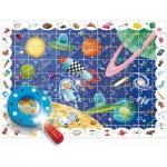 Ludattica-58266 Pièces XXL - Baby Détective : L'Espace