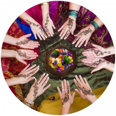 Grafika-Wood-00006 Puzzle en Bois - Femmes Indiennes