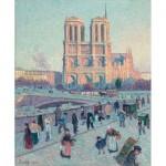 Puzzle-Michele-Wilson-A045-250 Puzzle en Bois découpé à la Main - Maximilien Luce - Notre Dame