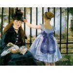 Puzzle-Michele-Wilson-A133-250 Manet : Le chemin de fer