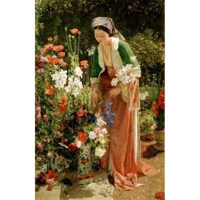 Puzzle-Michele-Wilson-A204-80 Lewis : Dans le jardin